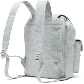 Herschel Dawson Small Sac à dos, light grey crosshatch
